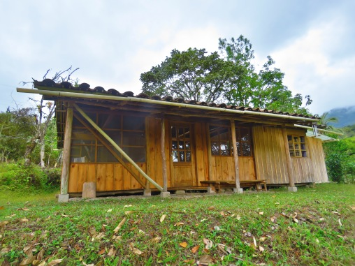Orchid Cabin Outside view 2